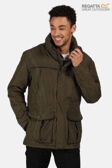 Regatta Green Rawson Waterproof Jacket