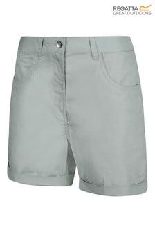 Regatta Cream Pemma Cotton Shorts