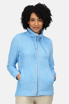 Regatta Blue Edlyn Full Zip Fleece