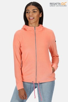 Regatta Orange Ranielle Full Zip Hooded Fleece