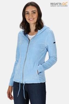 Regatta Blue Ranielle Full Zip Hooded Fleece