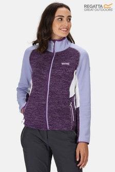 Regatta Purple Marl Lindalla Full Zip Fleece