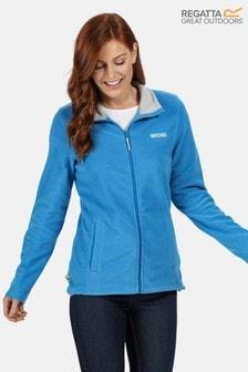 Regatta Blue Clemance Full Zip Fleece