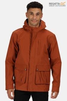 Regatta Orange Bazyl Ii Waterproof Jacket