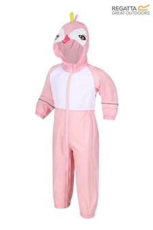 Regatta Charco Waterproof Animal Hooded Puddle Suit