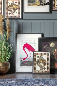 Gallery Direct Quirky Flamingo Framed Wall Art