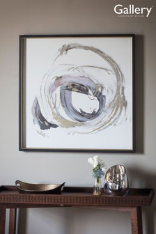 Gallery Direct Painted Whirlpool Framed Wall Art