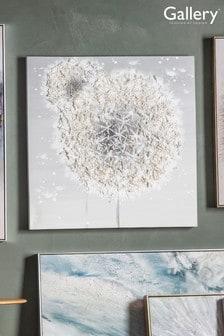 Gallery Direct Dandelion Textured Art Canvas