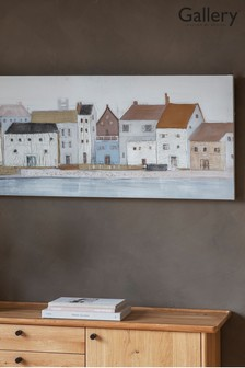 Gallery Direct Coastal Town Art Canvas