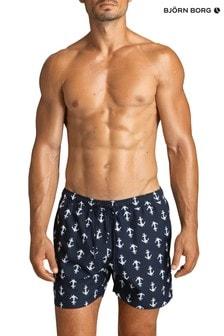 Bjorn Borg Blue Sylvester Sylvester Loose Swim Shorts