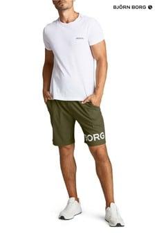 Bjorn Borg Green Borg Shorts