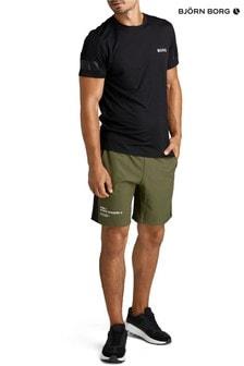 Bjorn Borg Green M Sports Academy Shorts