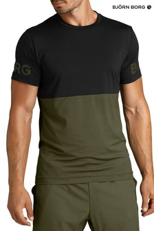 Bjorn Borg Black M Sports Academy T-Shirt