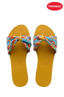 Havaianas Yellow You St Tropez Mesh Sandals