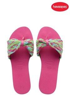 Havaianas Pink You St Tropez Mesh Sandals