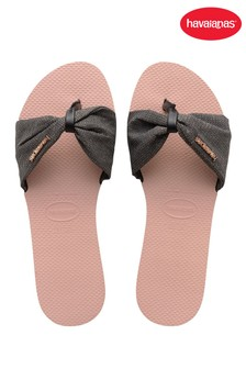 Havaianas Pink You St Tropez Shine Sandals