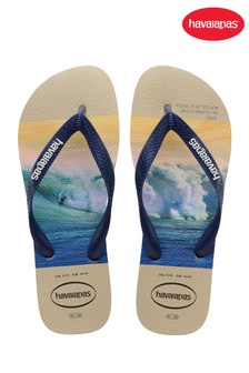 Havaianas White Hype Flip Flops