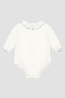 Paz Rodriguez Baby Boys Cream Bodysuit