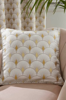Ashley Wilde Yellow Sopwell Feather Filled Cushion