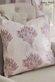 Ashley Wilde Purple Kimpton Feather Filled Cushion