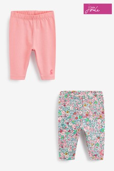 Joules Hopwell Leggings 2 Pack - 0-24 Months
