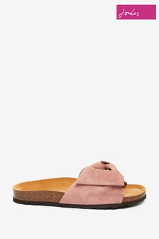 Joules Bayside Bow Slider Sandals
