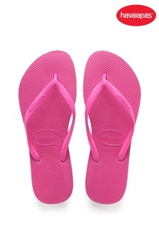 Havaianas Pink Slim Flip Flops