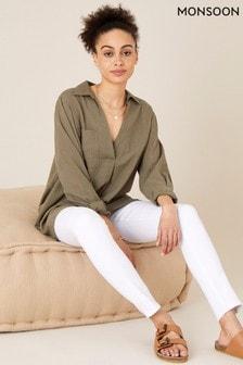 Monsoon White Iris Regular-Length Skinny Jeans