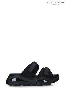 Kurt Geiger London Black Lettie Mens Sandals