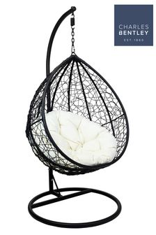 Rattan Hanging Swing Chair By Charles Bentley