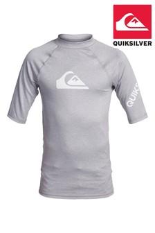 Quicksilver Grey All Times Surf T-Shirt