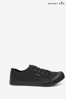 Rocket Dog Black Jazzin Fable Fabric Trainers