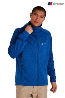 Berghaus Blue Spitzer Hooded Fleece Jacket
