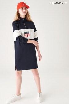 GANT Teen Girls Sporty Shield Half Zip Dress