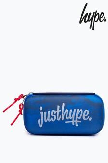 Hype. Blue Camo Neoprene Pencil Case