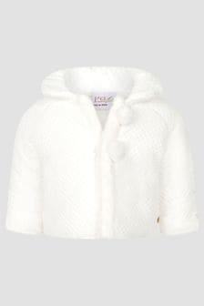 Paz Rodriguez Baby Girls Cream Coat