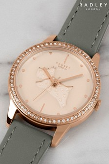 Radley Grey Leather Strap Watch