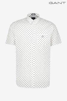 GANT Regular Pinpoint Oxford Shirt Sleeve Shirt