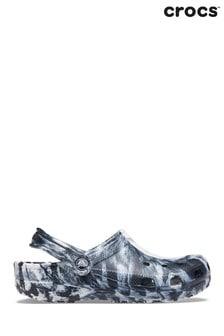 Crocs White Marble Sandals
