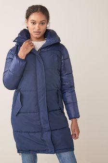 Longline Padded Coat