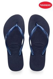 Havaianas Blue Slim Flip Flops
