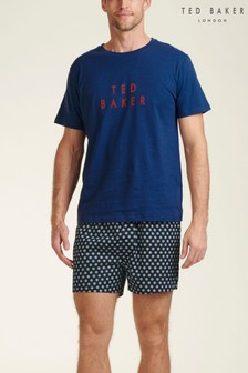 Ted Baker T-Shirt And Woven Boxer Set