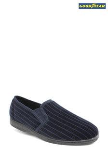 Goodyear Blue Don Navy Full Soft Slippers