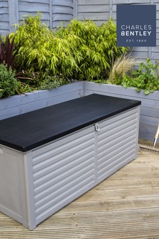 Large 390L Outdoor Plastic Storage Box By Charles Bentley