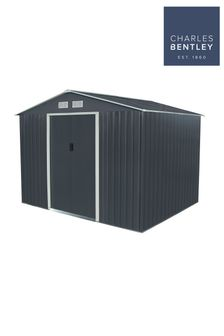 Metal Garden Storage Shed 9ft x 6ft By Charles Bentley