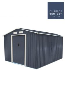 Metal Garden Storage Shed 10ft x 8ft By Charles Bentley