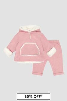 Paz Rodriguez Baby Girls Pink Jogger Set