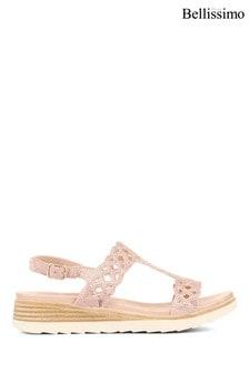 Bellissimo Pink Ladies Mule Sandals