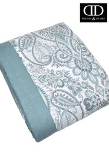 D&D Blue Maduri Quilted Bedspread