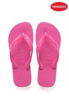 Havaianas Pink Top Flip Flops